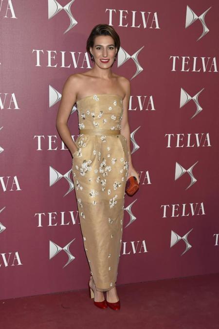 Eugenia Osborne en la entrega de premios T de Telva