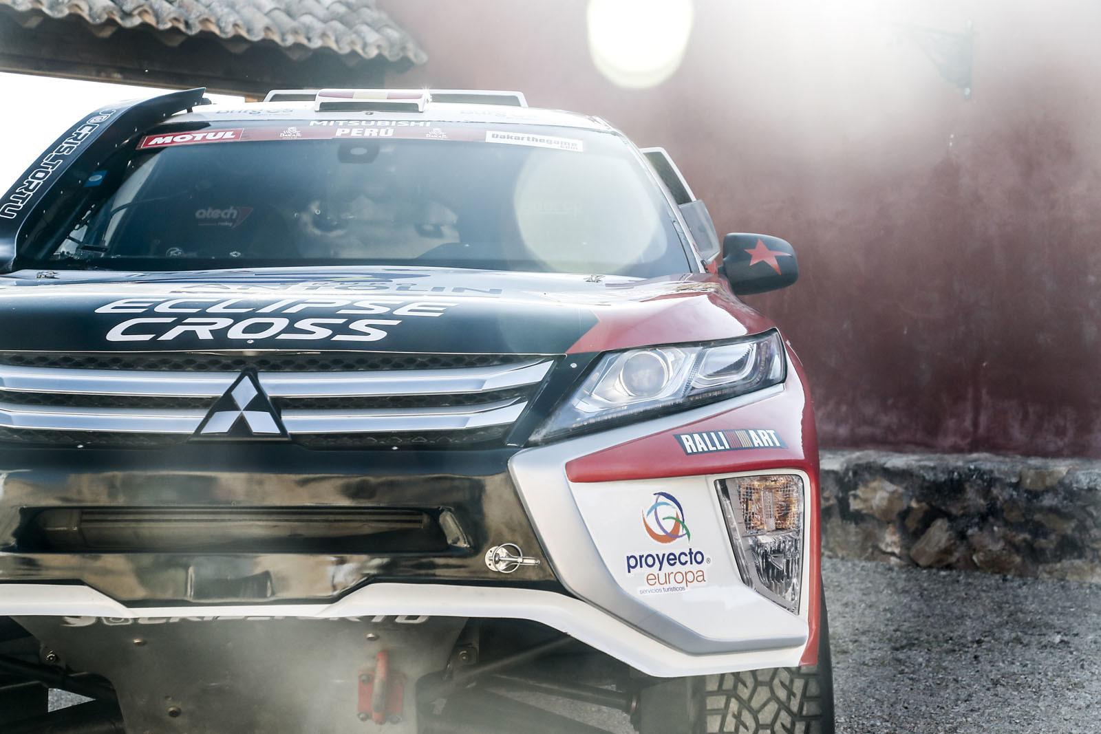 Foto de Mitsubishi Eclipse Cross Proto Dakar (37/38)