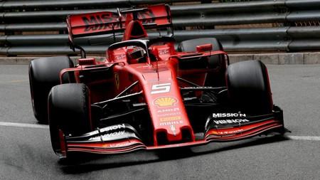 Vettel Monaco F1 2019