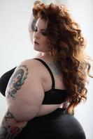 Tess Munster la modelo de talla grande... realmente grande