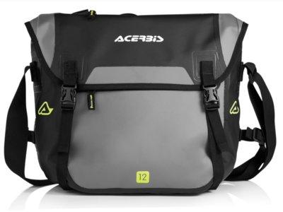Aspecto urbano y mucha practicidad con la bolsa impermeable Acerbis No Water