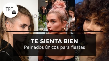 En vídeo: 19 peinados que te harán diferente en esa fiesta