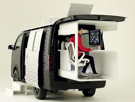 Tu caravana es tu oficina: Nissan diseña un vehículo para que puedas trabajar allá donde vayas