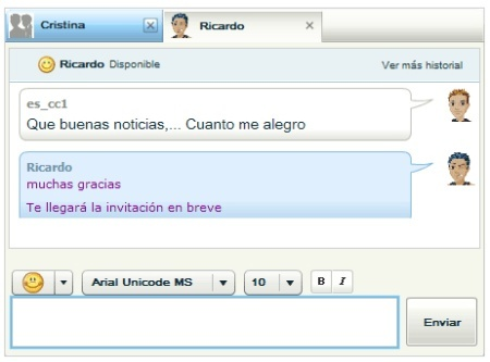 Webmessenger de Yahoo ya en español