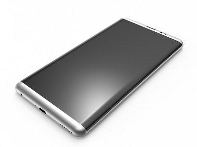 Nuevos renders apoyan la teoría de un Galaxy S8 sin botón de inicio