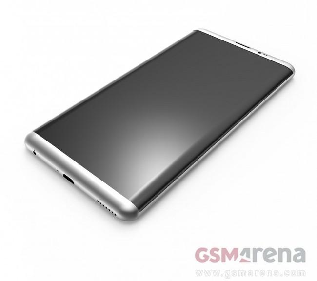 Galaxy S8 Render 1