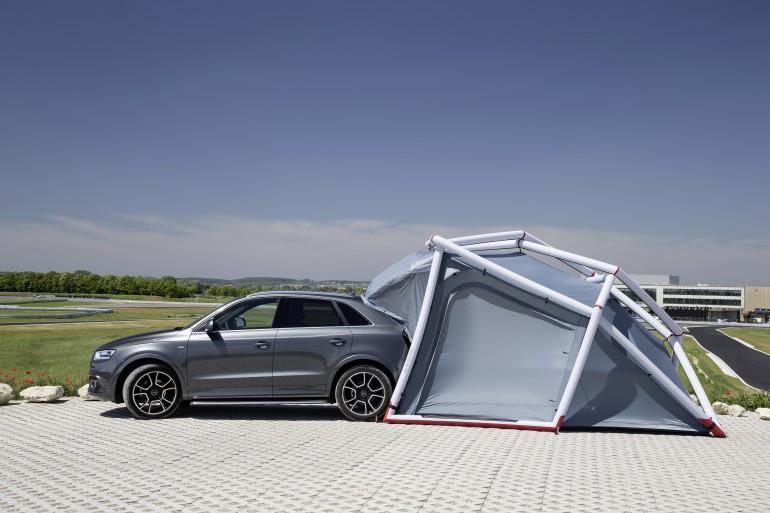 Foto de Tienda de campaña para Audi Q3 (11/12)