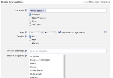 Facebook prueba una nueva interfaz para crear anuncios
