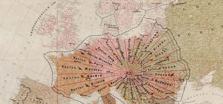 Aquella loca ocasión en la que quisimos arreglar Europa dividiéndola en 24 cantones radiales