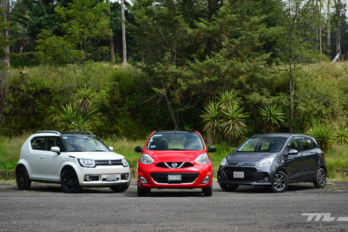 Comparativa: Nissan March vs. Hyundai Grand i10 vs. Suzuki Ignis (+ video)