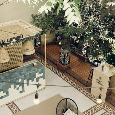 Conciertos acústicos, cine al aire libre, catas maridadas...: el Jardín Cervezas Alhambra puede ser el plan perfecto para las noches de (casi) verano