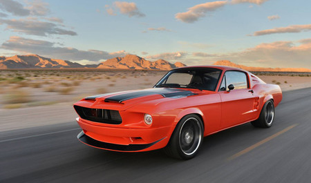 "Classic Recreations y su Ford Mustang ""Villain"""