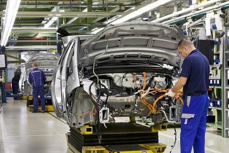 Mercedes Clase A E-Cell en la factoría