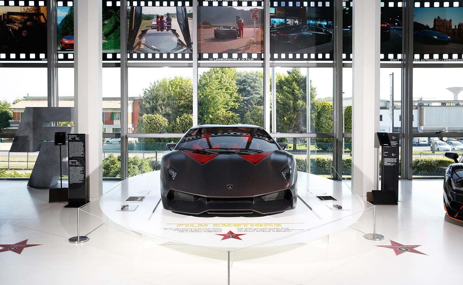 Foto de Emociones de película: Lamborghini y el mundo del cine: la exposición (11/15)