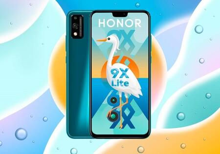Honor 9X Lite se ofrece para