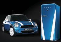 Frigorífico Smeg, pasión por el Mini Cooper S