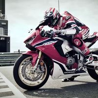 ¿Ganas de Fireblade? Aquí tienes a Nicky Hayden rodando con la Honda CBR1000RR SP