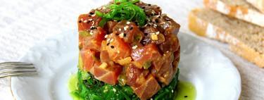 Receta de tartar de atún rojo, el delicioso entrante que puedes tener listo en menos de 30 minutos