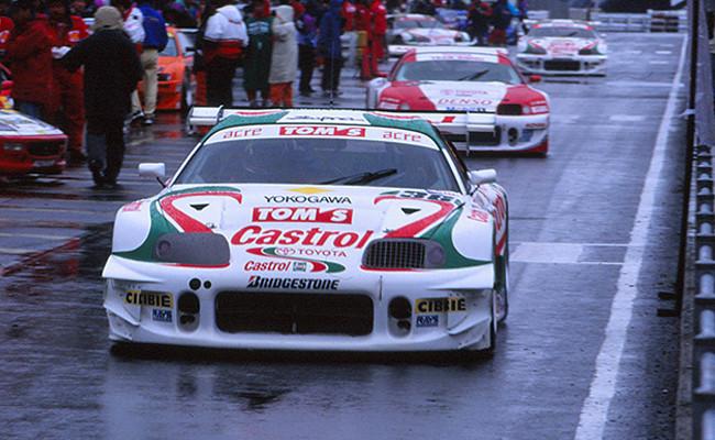 Pedro de la Rosa Toyota Supra JGTC 1997