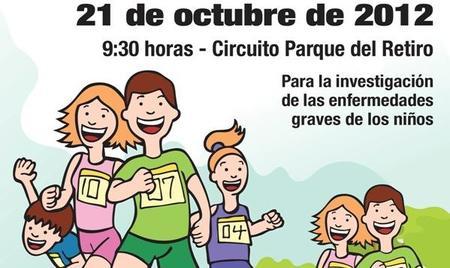 """Este domingo, """"Corre por el niño"""" para la investigación de enfermedades infantiles"""