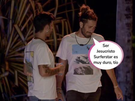 'La Isla de las Tentaciones 3': Raúl se derrumba al comprobar  la complicidad entre su novia Claudia y un tentador (Tony) durante una fiesta