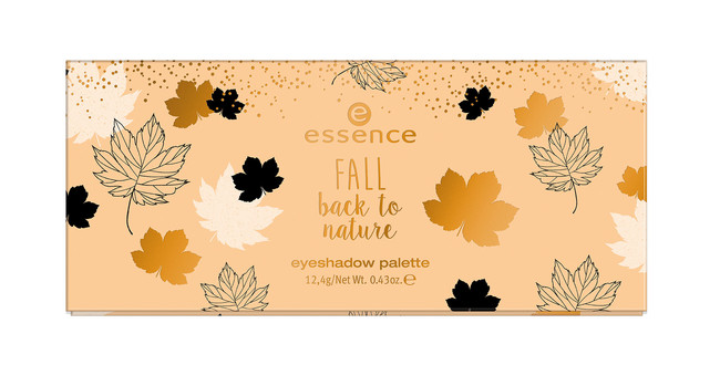 Ess Fall Back To Nature Eyeshadow Palette Closed