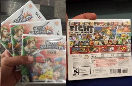 Super Smash Bros. para 3DS aparece una semana antes de su fecha de lanzamiento en México
