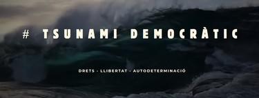 El sitio web original de Tsunami Democràtic ha sido bloqueado, pero ya lo han redirigido a otro dominio [Actualizada]