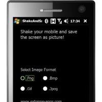ShakeAndSave, captura la pantalla agitando el teléfono