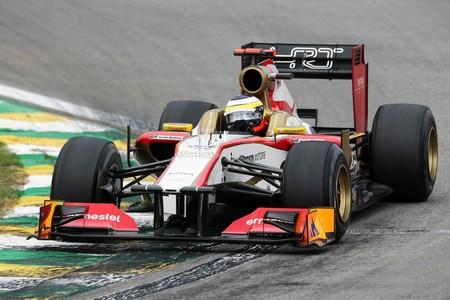 De La Rosa Brasil F1 2012