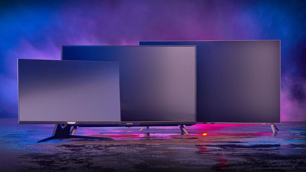 Gigabyte Aorus FI32U y Aorus FO48U: nuevos monitores de hasta 48 pulgadas y panel OLED o IPS para usar con la consola