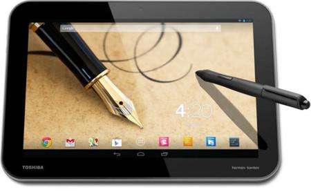 Toshiba presenta sus nuevas tablets Excite Pure, Excite Pro y Excite Write