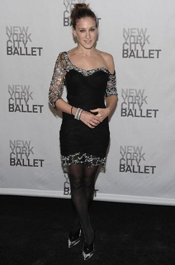 El impresionante look de Sarah Jessica Parker ¡lo quiero para estas fiestas!