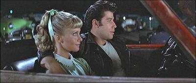 Visitando un drive-in como en la película 'Grease'