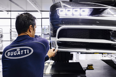 Bugatti fábrica