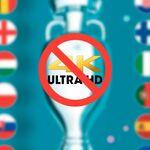 Es 2021 y no podemos ver la Eurocopa en 4K ni por TDT ni por Internet, tras ocho años de UHD: así es en otros países