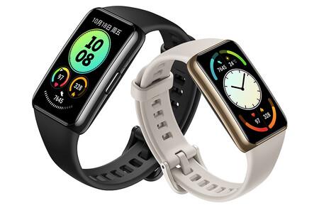 Huawei Band 6 Pro: la pulsera inteligente más avanzada de Huawei llega con chip NFC y sensor de temperatura corporal