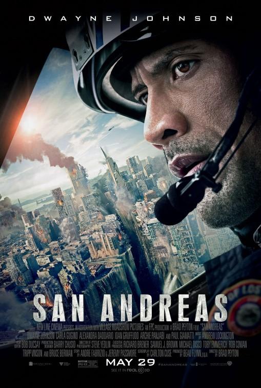 Carteles de la película 'San Andrés'