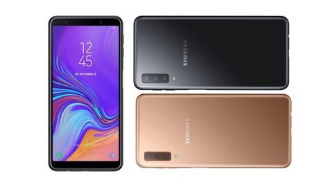 El Galaxy A7 de Samsung