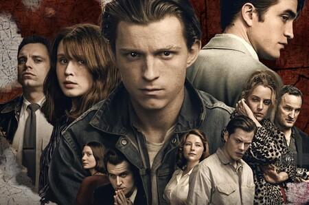 'El diablo a todas horas': la película de Netflix es un festival de crueldad y sordidez en el que destaca su espectacular reparto