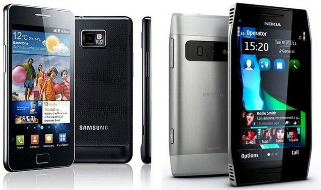 Precios Galaxy S2 y Nokia X7 con Yoigo