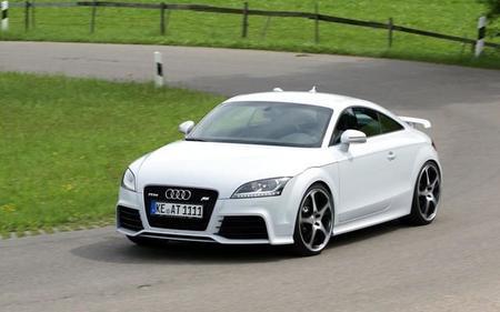 Audi TT-RS By ABT durante las pruebas.
