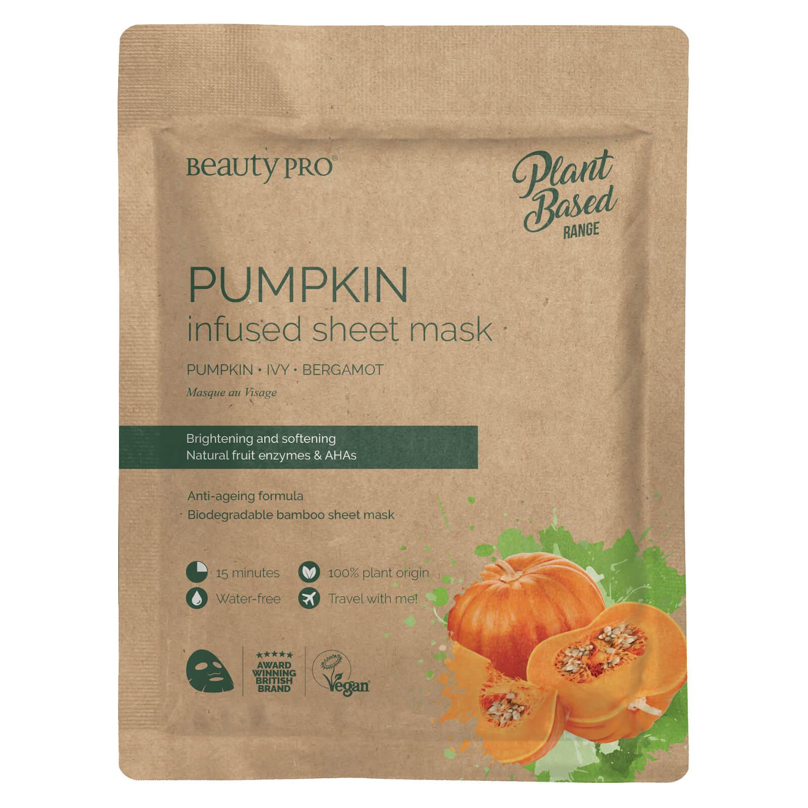 BeautyPro Pumpkin Infused Sheet Mask