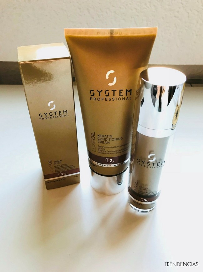 probamos system professional oil luxe cabello