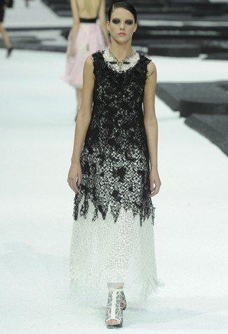 Chanel Primavera-Verano 2011 encaje