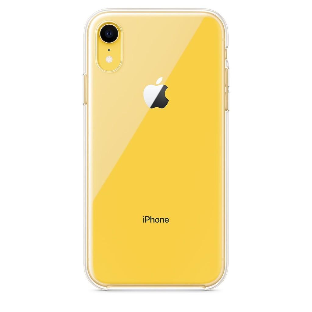 Ya está aquí: libre la funda transparente oficial de Apple™ para los iPhone XR