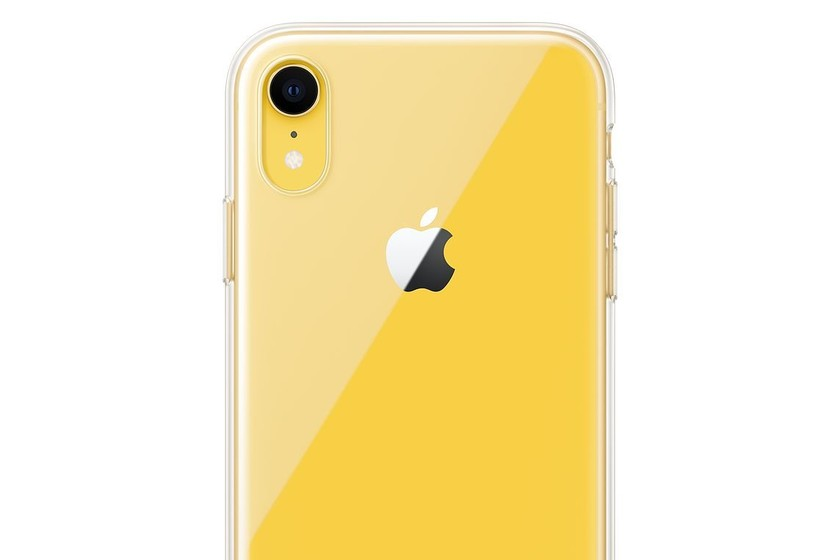 Ya disponible la funda transparente del iPhone XR por 45 euros