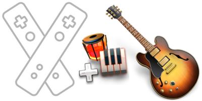 Tutorial: usa tu WiiMote como teclado midi de Garageband