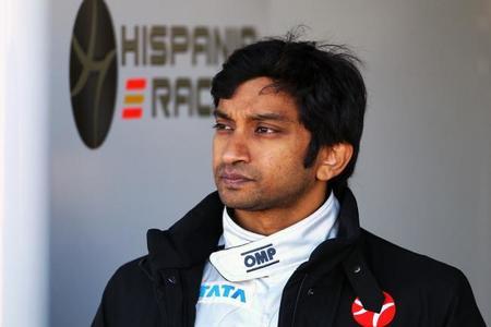 Narain Karthikeyan pone sus miras en la IndyCar. Porque los viejos rockeros nunca mueren