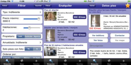 Aplicaciones para encontrar casa - enalquiler